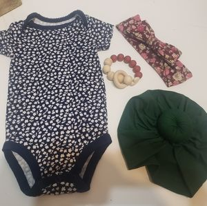 6-9 Mo. Carter's Onesie and More!  Lot